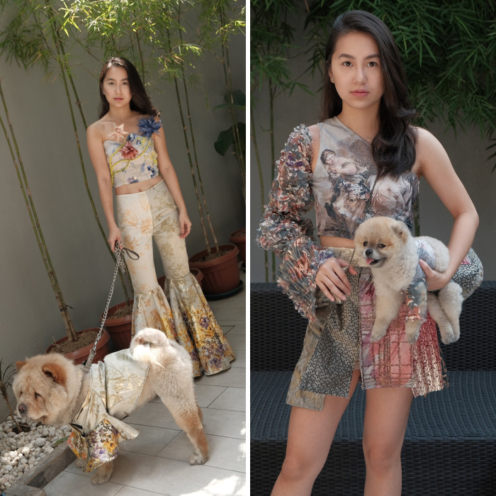 Designing & Sewing Couture Clothes For My Pets And Myself