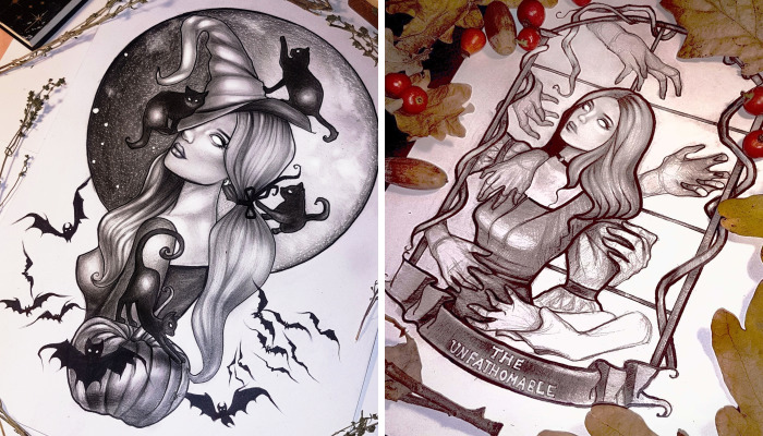 Trick Or Treat? Witchy October Art For All The Halloween Lovers