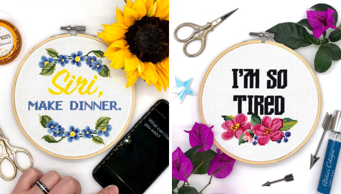 I Am A Cross Stitch Designer And You're Going To Love My Funny Designs