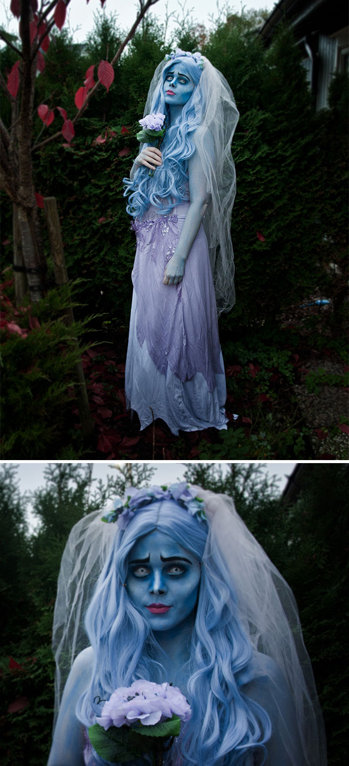 Hope You Guys Like My Costume, Emily From Corpse Bride