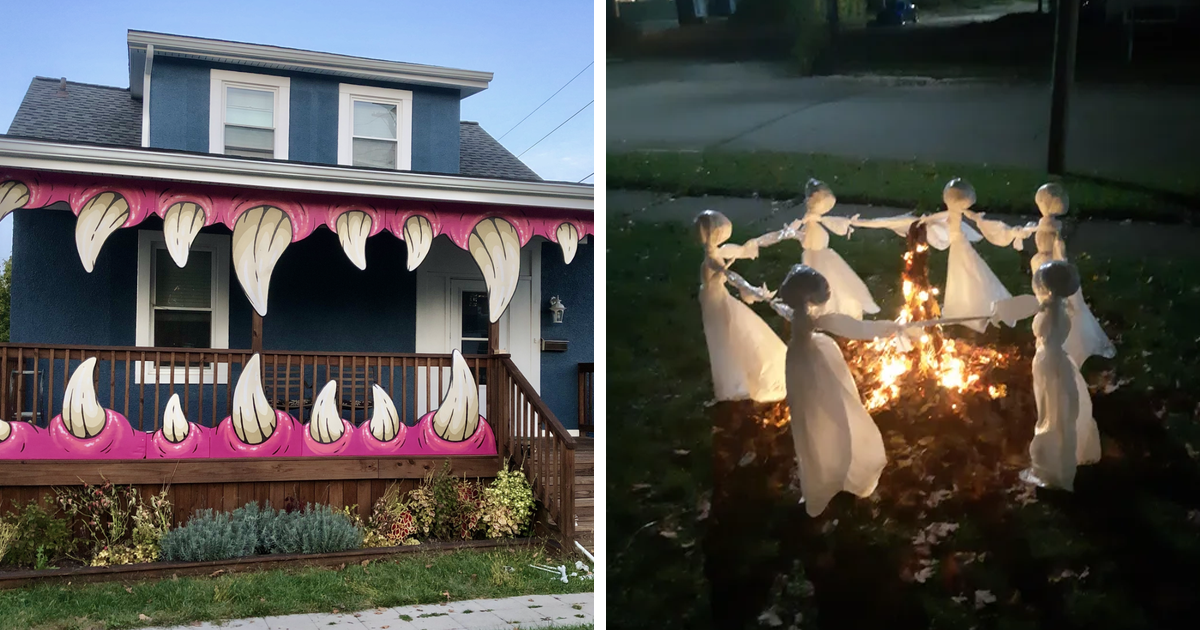 57 Awesome Halloween Decorations That Are Sure To Make Your Neighbors Do A Double Take