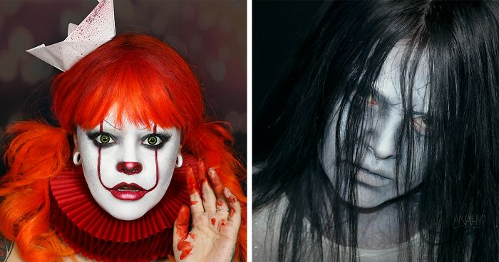 I Created 25 Looks For Halloween Inspired By Horror Movie Characters