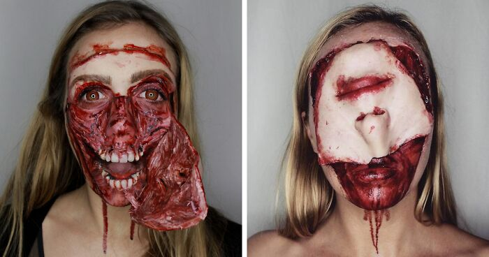 Makeup Is My Hobby, Job And Addiction, Here Are My 58 Halloween Looks