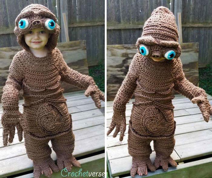 Crochet E.t. Costume