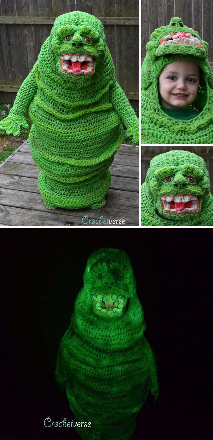 Crochet Slimer Costume