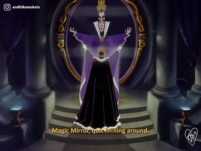 When You Order Magic Mirror Online And Got A Funhouse Mirror Instead