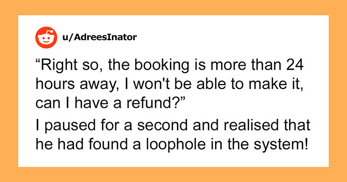 Escape Room Doesn't Want To Refund A Guy's Cancellation But He Finds A Loophole