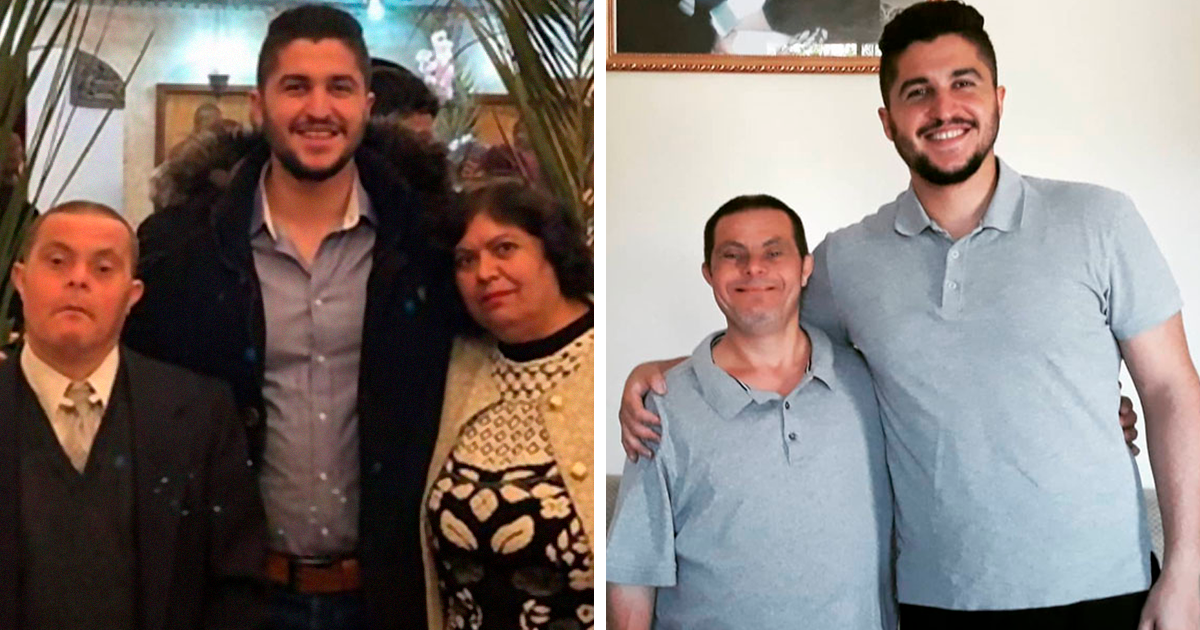 Student From Syria Shares How He Was Raised By His Dad Who Has Down Syndrome