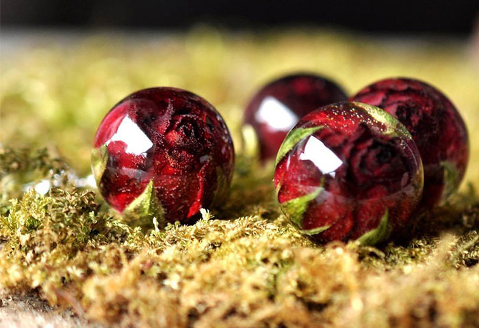 I Create Resin Jewelry With Flowers And Other Pieces Of Nature (50 Pics)
