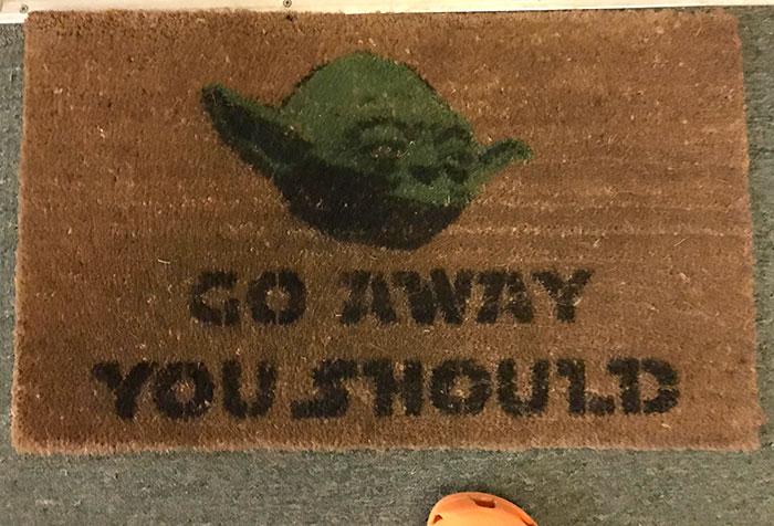 Best Doormat Ever - Yoda