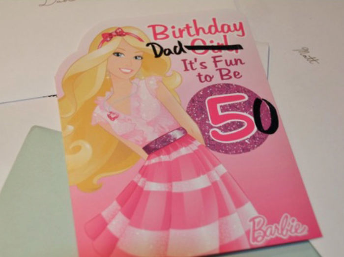 My Sense Of Humor: Getting Birthday Cards With The Wildly Incorrect Age On It For People