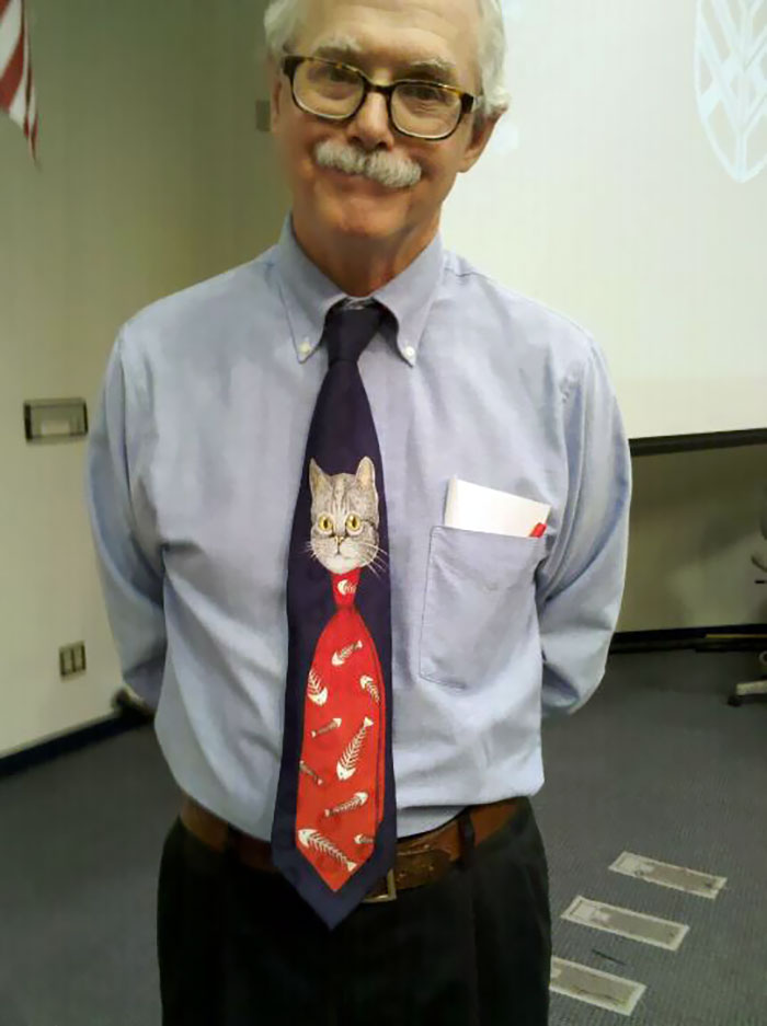 My Biology Professor Was Wearing An Awesome Tie Yesterday