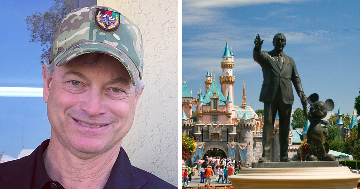 Gary Sinise Honors Fallen Us Soldiers By Sending Over 1,000 Of Their Kids To Disneyland