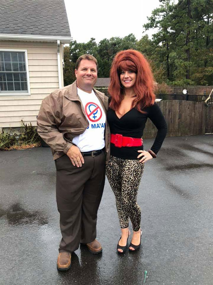 """Married... With Children"" Halloween Costume"