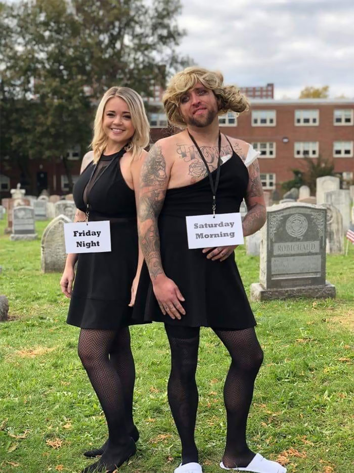 Best Halloween Duo I've Seen This Year