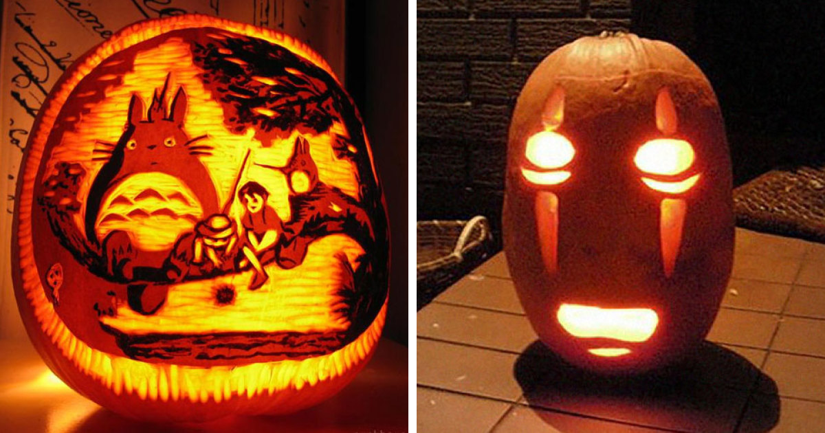 People Are Carving Studio Ghibli-Inspired Pumpkins For Halloween And Here Are 45 Of The Best Ones