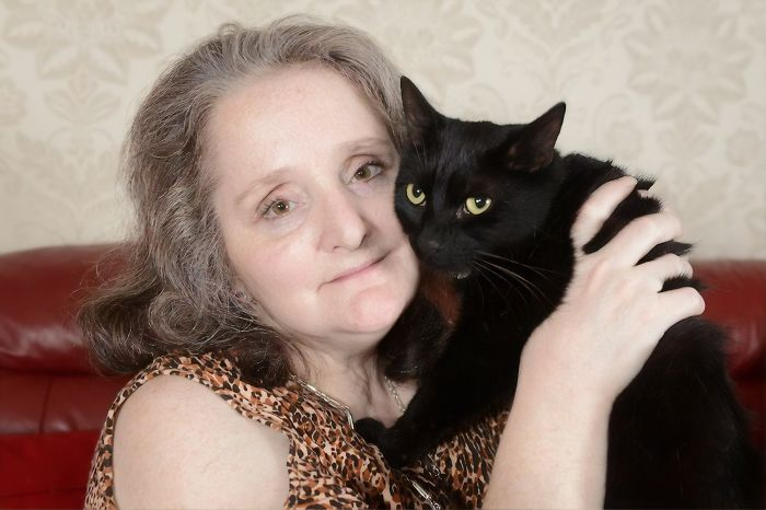 Slinky Malinky, The Black Short Hair Tomcat Who Saved Its Owner From A Morphine Induced Coma