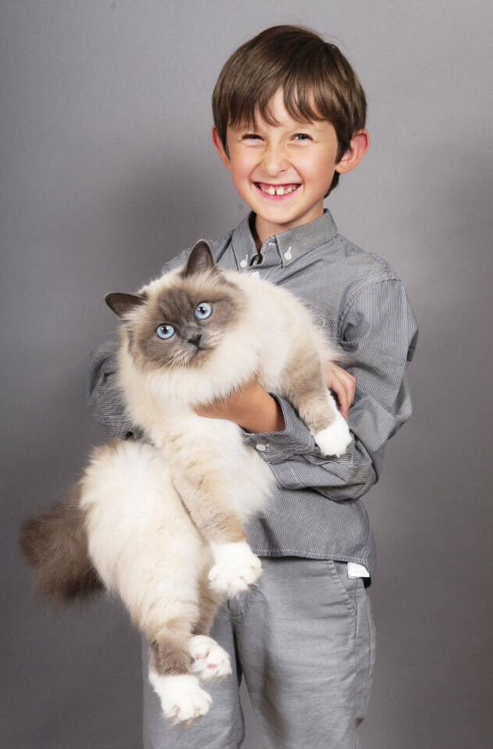 Jessi-Cat, The Furry Feline Therapist For A Boy With Selective Mutism