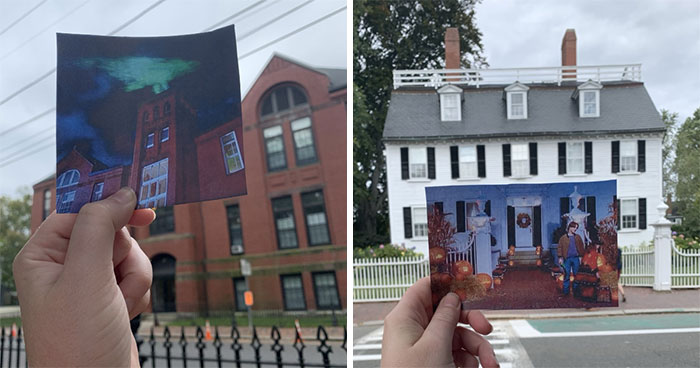 I Captured Hocus Pocus Filming Locations In Real Life (11 Pics)