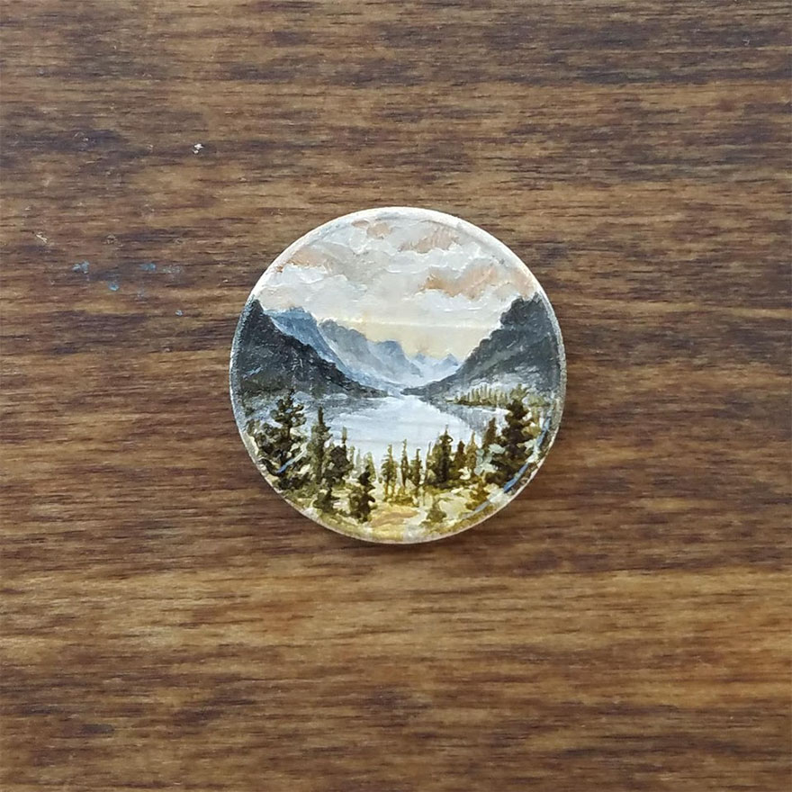 Painting On Penny