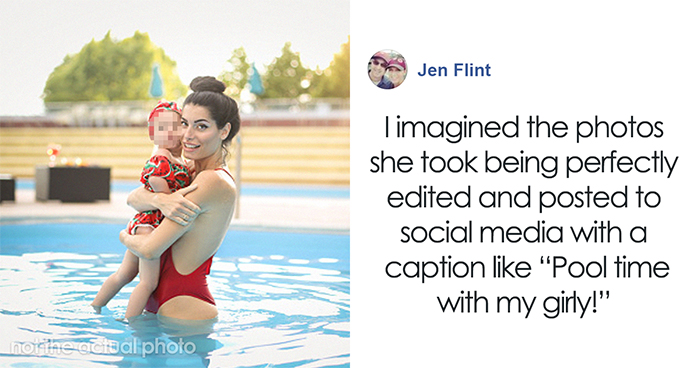 Woman Exposes 'Instagram Perfect' Mom After She Pays No Attention To Her Child At A Pool, Shows You Shouldn't Believe Social Media