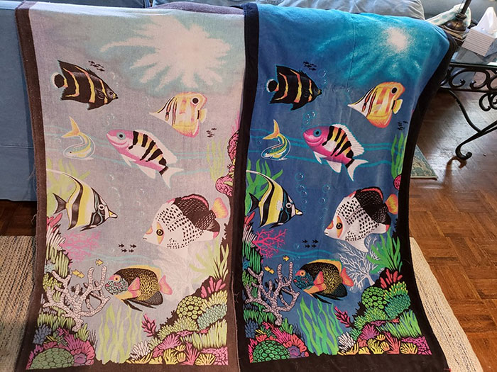 After 20 Years Of Loving This Towel, We Found The Exact Same One, Completely New, At Goodwill