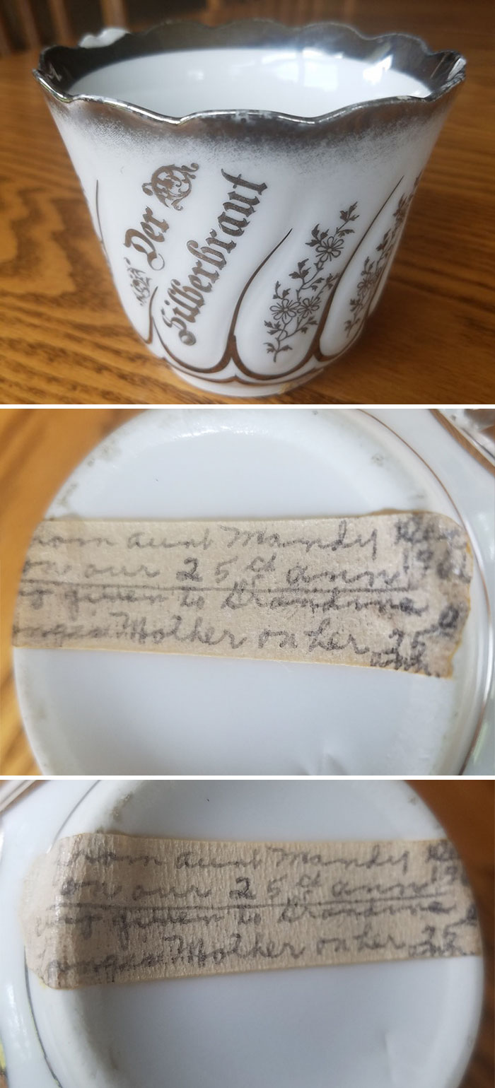 I Went To An Estate Sale Which I Knew Was A Distant Relative. Things Were Pretty Much Picked Over...but Then I Looked In The Back Of A Cupboard And Saw This Teacup. I Turned It Over To See Who Made It...