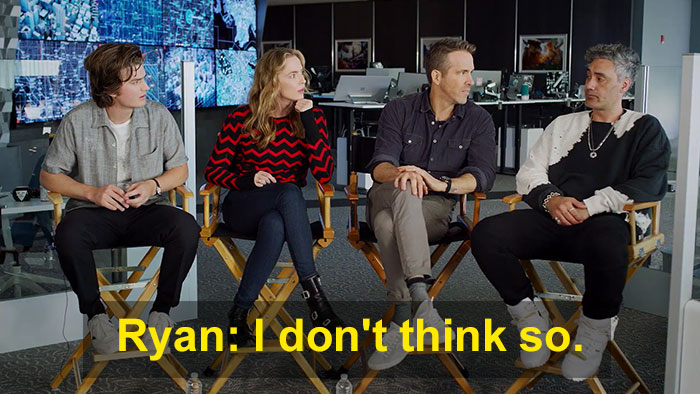 Ryan Reynolds Denies Starring In Green Lantern, Walks Out From Interview When Asked About It