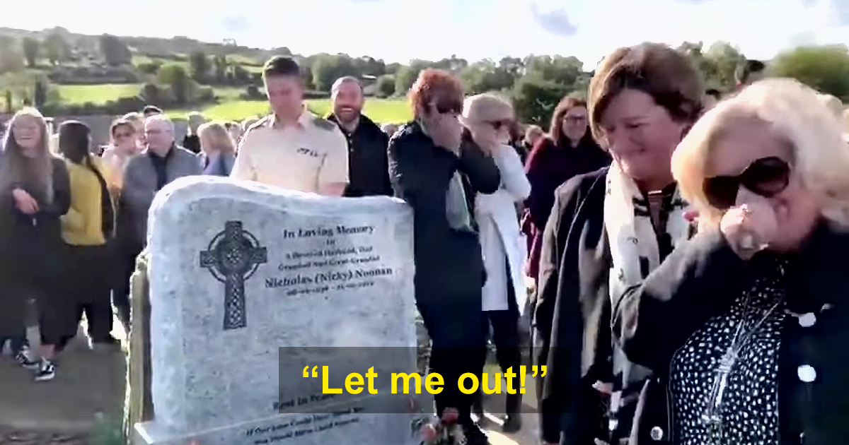Irish Man Pre-Records Message To Play At His Funeral, Leaves Mourners In Tears Of Laughter