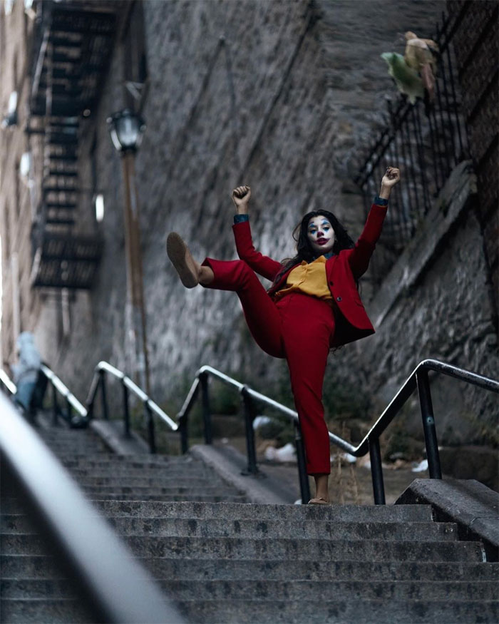 'Joker' Stairs in the Bronx Attract fans for a perfect Instagram Pictures