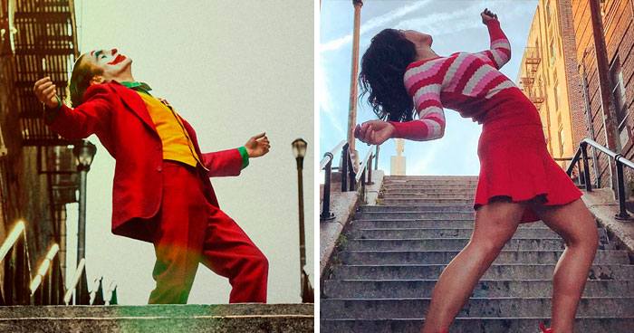 'The Joker' Stairs In New York Become A Tourist Attraction And Here Are 14 Pics Taken By Fans