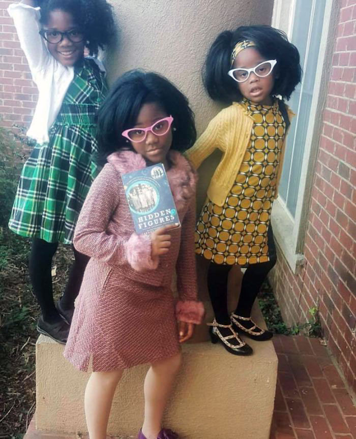 """These Three Girls Dressed Up As The Women Portrayed In """"Hidden Figures"""" Are Winners"""