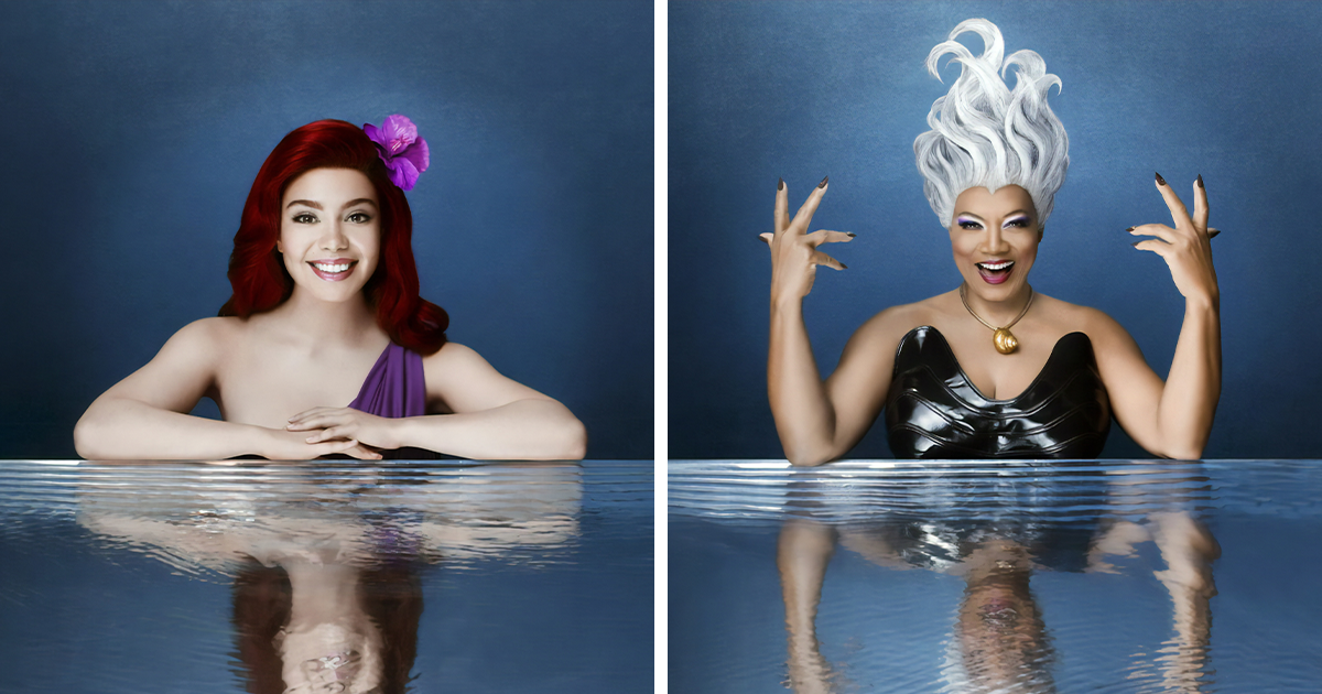Official Portraits Of The Little Mermaid Live! Cast Has Finally Surfaced