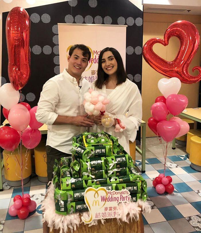 Hong Kong Wedding: McDonald's In Hong Kong Offers Wedding Parties For Less