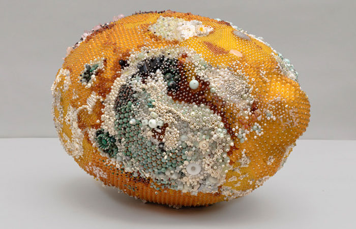 These Moldy Fruits Are Actually Sculptures Made Of Gemstones