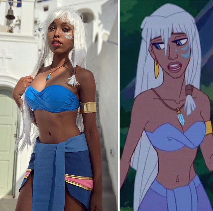 Princess 'Kida' Kidagakash (Atlantis: The Lost Empire)