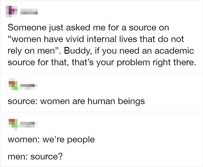 They Think Women Are Basically Automatons
