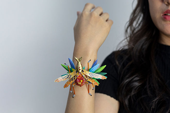 Our 26 Pics Of An Intricate Jewelry Series Made Almost Entirely From Paper