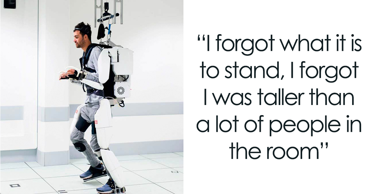This Man Who Was Paralyzed For 4 Years Can Finally Walk Again With A Mind-Controlled Exoskeleton