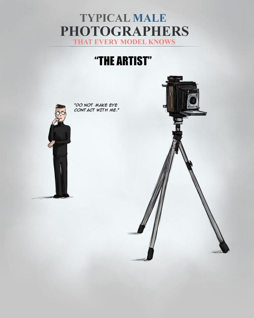 Photographer-Stereotypes-Illustrations-Pixelcrush