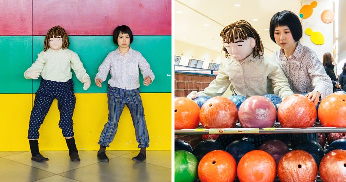 I Take Self-Portraits With A Scarecrow To Show Depopulation Problems In Japan (12 New Pics)
