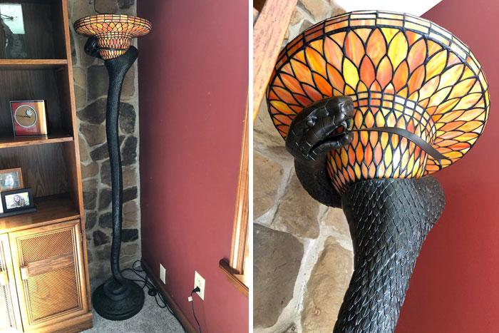 Floor Snake Lamp