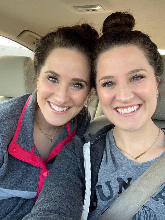 'She's Gonna Kill Me For This Pic': Sister Reveals The Gritty Details Of Her Twin's Life As A Nurse