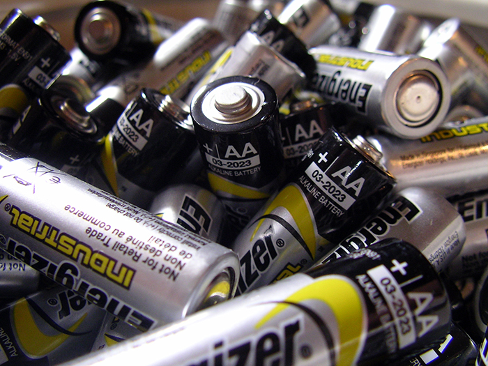 Switch to rechargeable batteries