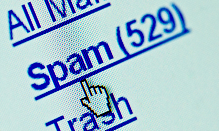 Opt out of spam emails
