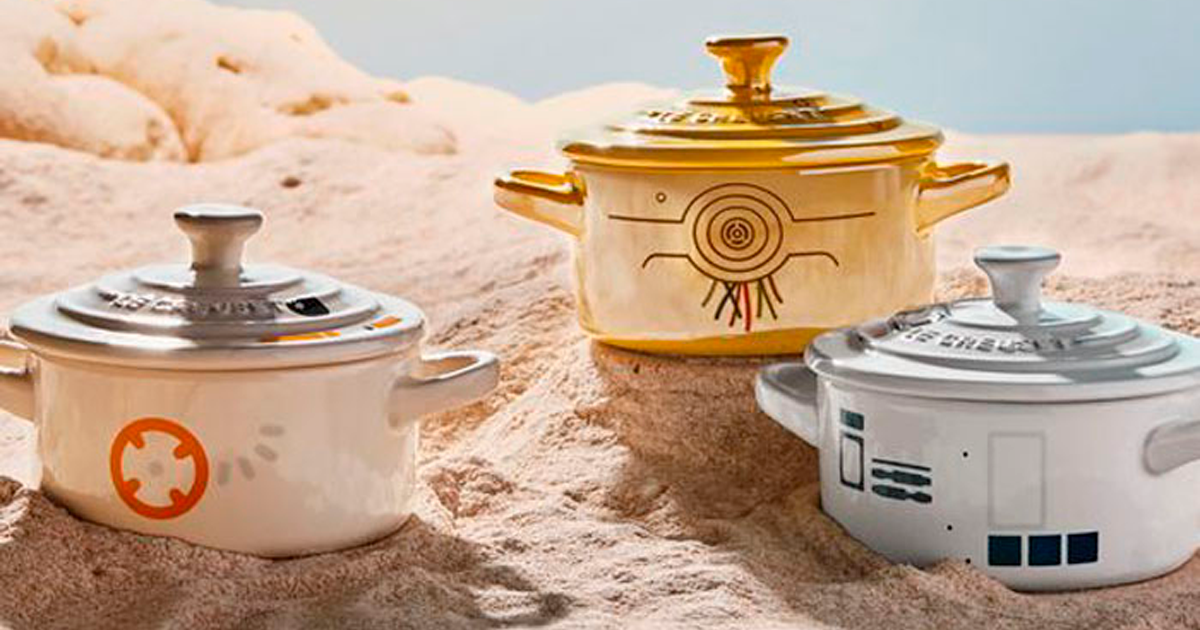 Le Creuset Announces A Collection Of Star Wars Themed Cookware, And It's Out Of This World