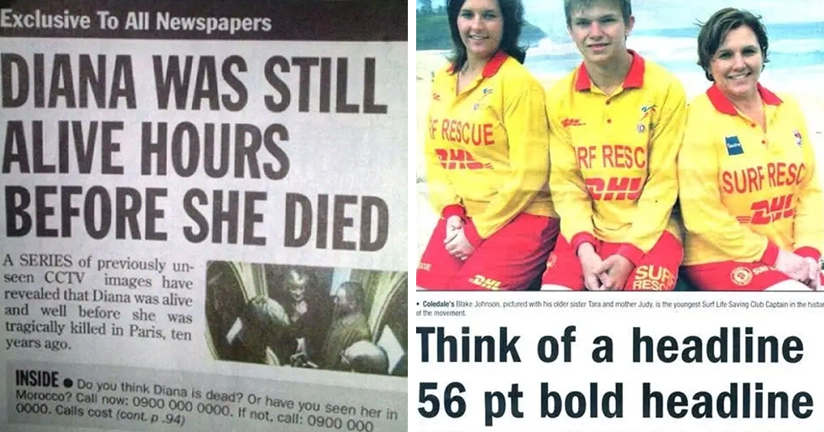 40 Of The Worst Newspaper Headlines To Make You Facepalm At The Stupidity