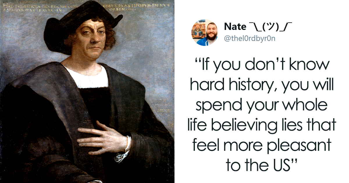 Teacher Says He Won't Lie To Students, Teaches The Untold History Of Columbus, His Tweets Go Viral