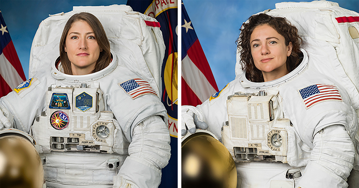The First Ever All-Female Spacewalk Is Finally Happening Today