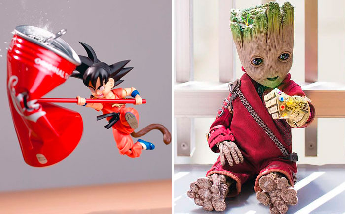 Japanese Photographer Brings Action Figures To Life In Impressive Shots (40 Pics)